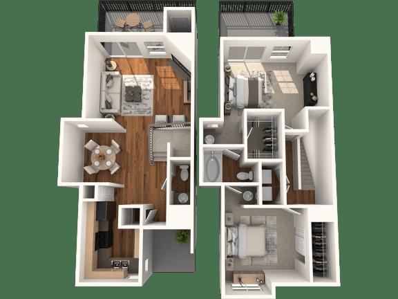 B2 Floor Plan | Madison Arboretum