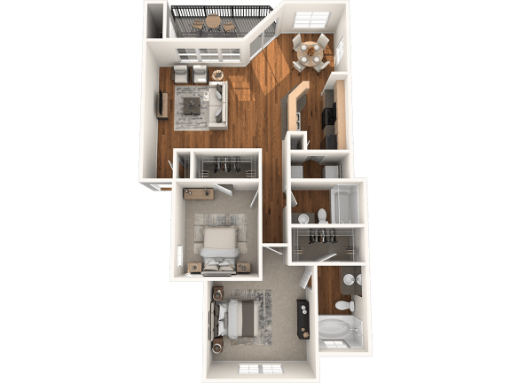 Floor Plan  B4 Floor Plan | Madison Arboretum