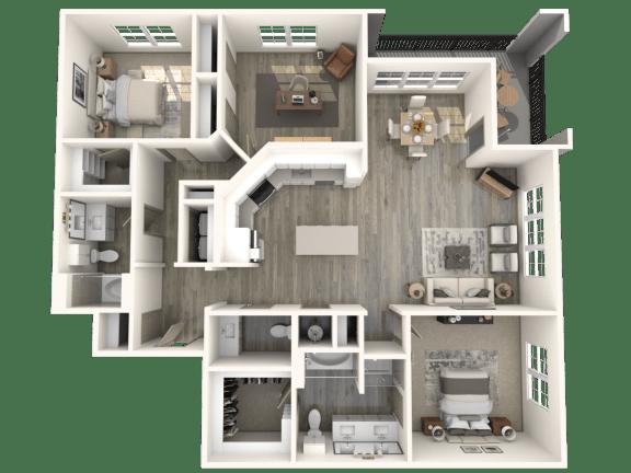 Floor Plan  C1 Floor Plan | Inspire
