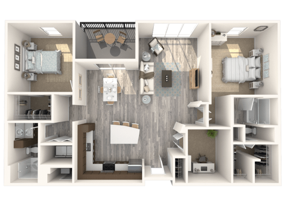 Floor Plan  Chelsea Floor Plan | The Paramount