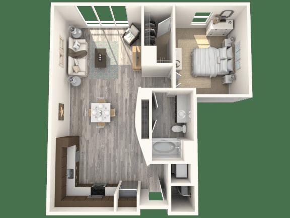 Clevelander Floor Plan   Paramount