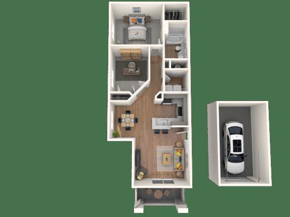 Collalto Floor Plan |Altezza High Desert