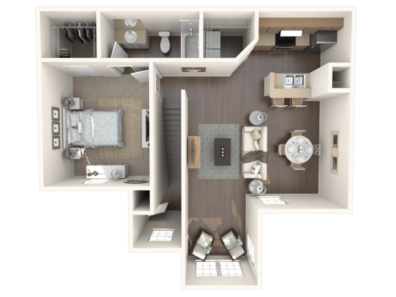 Floor Plan  Cozumel l_up Floor Plan |Caribbean Isle