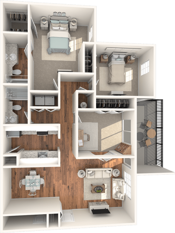 Cypress Floor Plan |Lakes at Suntree