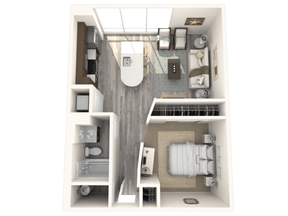 Floor Plan  Delano Floor Plan | The Paramount
