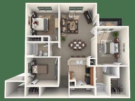 Delmar Floor Plan |Estates at Heathbrook