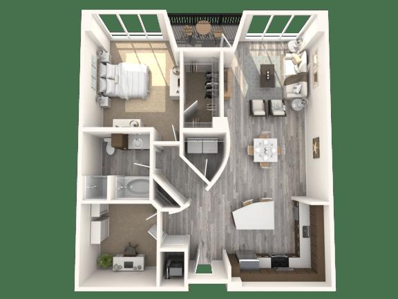 Empire Floor Plan   Paramount