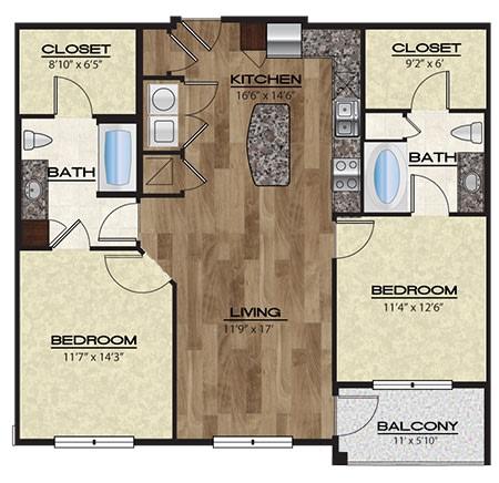 Tuscany Floor Plan   Rialto