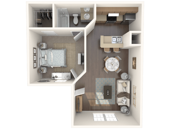 Garden Isle_ up Floor Plan |Caribbean Isle