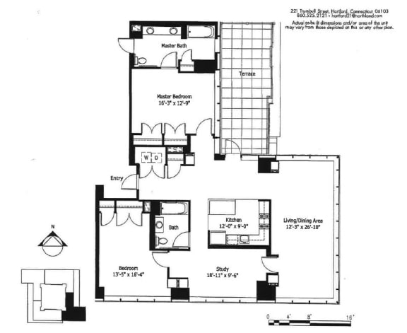 Penthouse 3 Floor Plan |Hartford 21