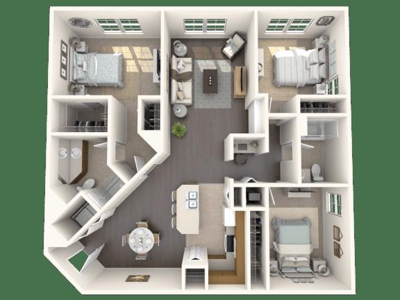 Floor Plan  Juniper Floor Plan| Floresta