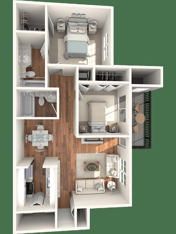 Juniper Floor Plan |Lakes at Suntree