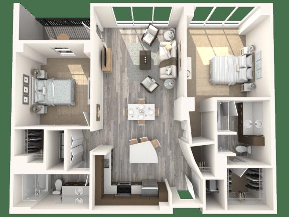 Floor Plan  Kent Floor Plan | The Paramount