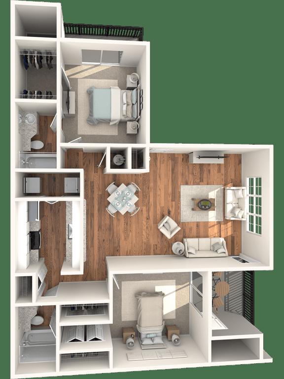 Floor Plan  Magnolia Floor Plan |Lakes at Suntree
