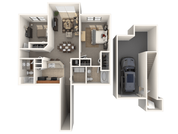 Morgan Floor Plan |Estates at Heathbrook