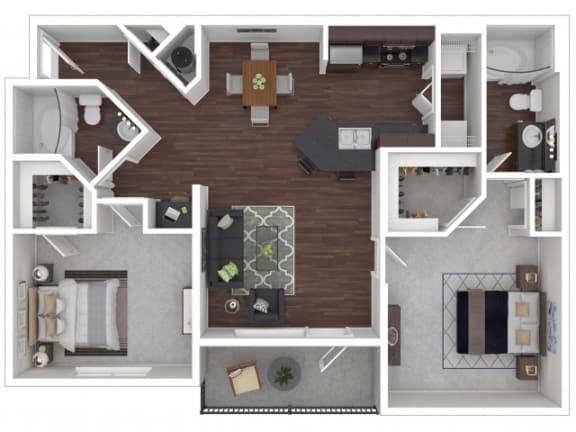 Floor Plan  Hawthorn Floor Plan| Cypress Legends