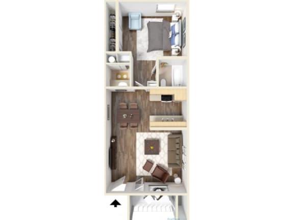 1C Floor Plan | Promontory