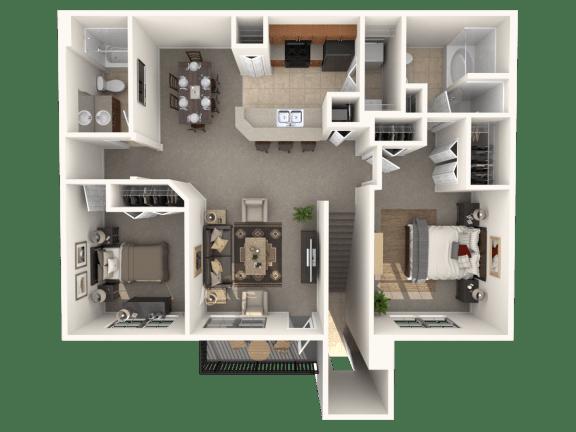 Radford Floor Plan |Estates at Heathbrook
