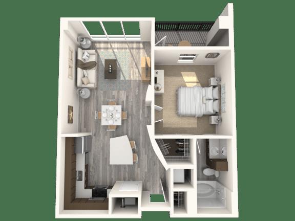 Floor Plan  Rockefeller Floor Plan | Paramount
