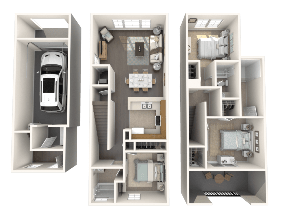 Floor Plan  Sandalwood Floor Plan| Floresta