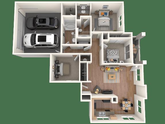Sirino Floor Plan |Altezza High Desert