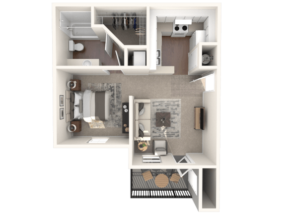 Floor Plan  Studio | Monterey Ranch