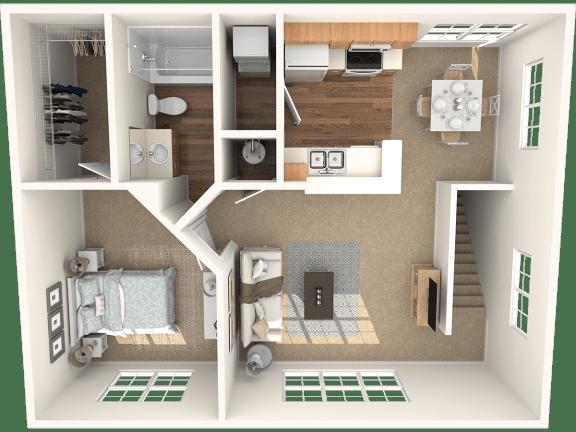 Floor Plan  The Ash Floor Plan |Grandeville on Saxon