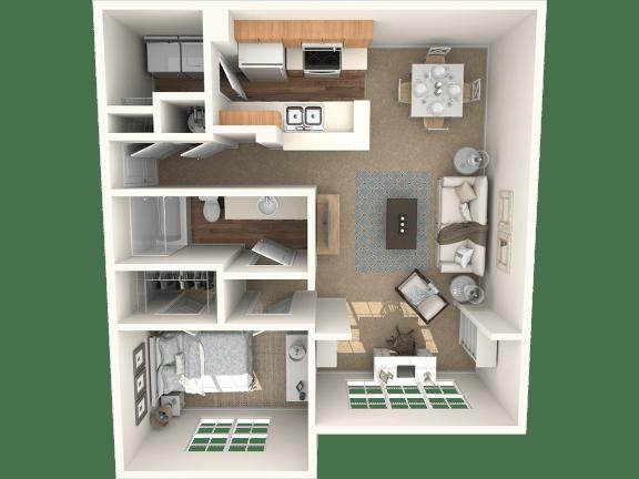Floor Plan  The Aspen Floor Plan|Grandeville on Saxon