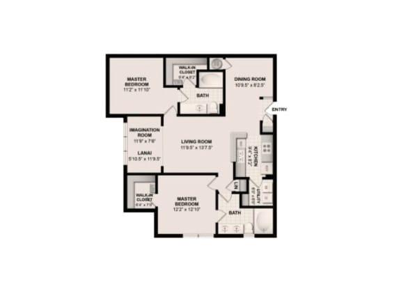 The Cypress Floor Plan |Grandeville on Saxon