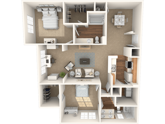 Floor Plan  The Cypress Floor Plan |Grandeville on Saxon