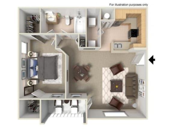 Aruba Floor Plan | Yacht Club