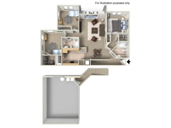 Martinique Floor Plan | Yacht Club