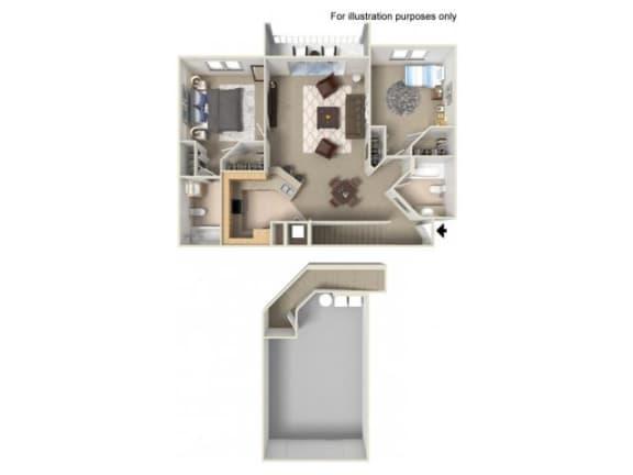 St Kitts Floor Plan |Yacht Club