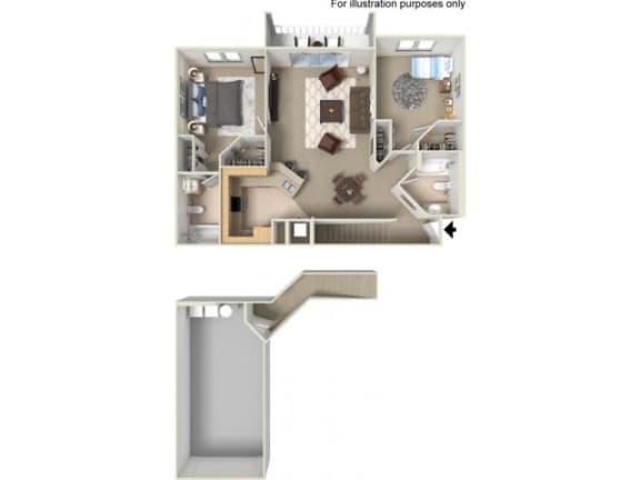St. Lucia Floor Plan | Yacht Club