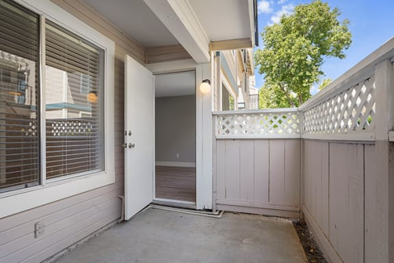 Large Personal Patio at Clayton Creek Apartments, Concord