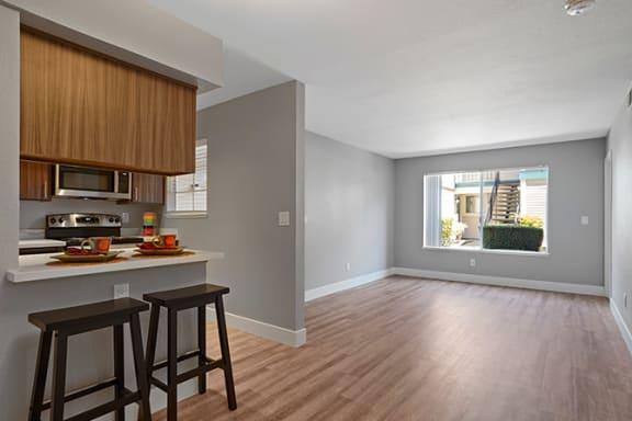 Wood Inspired Plank Flooring at Clayton Creek Apartments, California, 94521