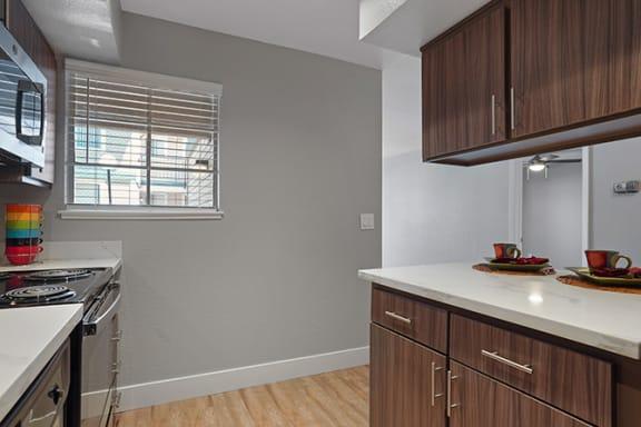 Modular Kitchen at Clayton Creek Apartments, Concord, CA