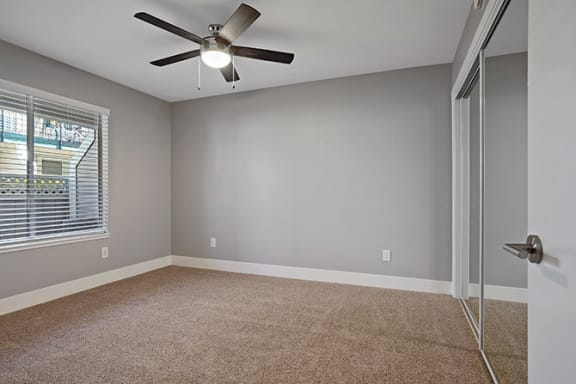 Ceiling Fan In Apartment at Clayton Creek Apartments, Concord, CA, 94521