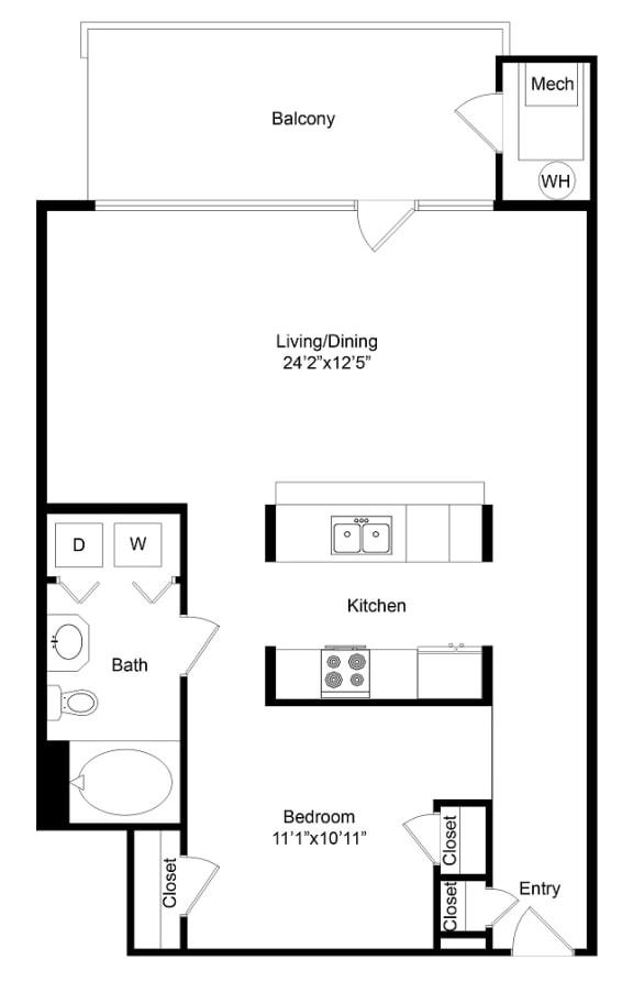Floor Plan  City Gate Highland floor plan