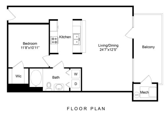 Floor Plan  City Gate Wewatta floor plan