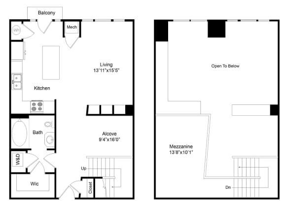 Floor Plan  City Gate Larimere floor plan