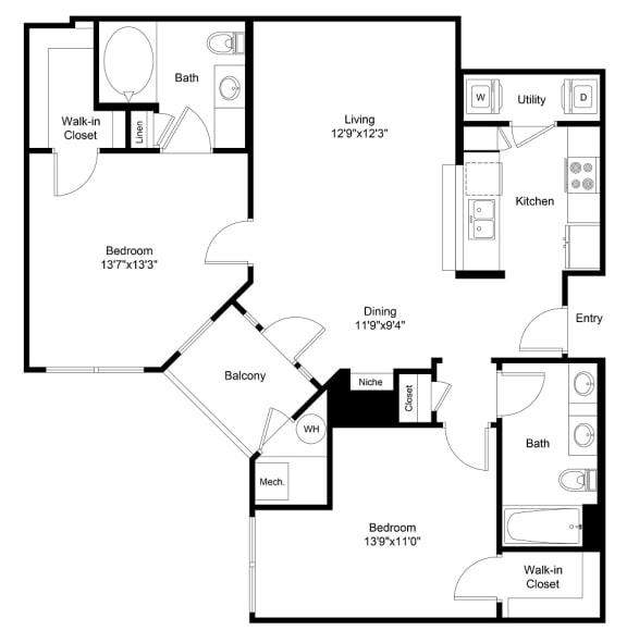 Floor Plan  City Gate Kennedy floor plan