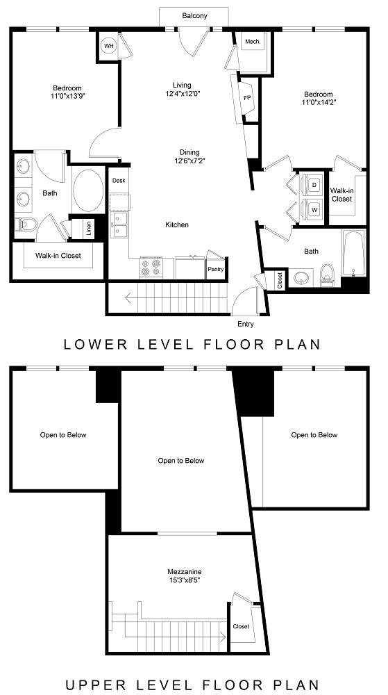 Floor Plan  City Gate Arapahoe floor plan