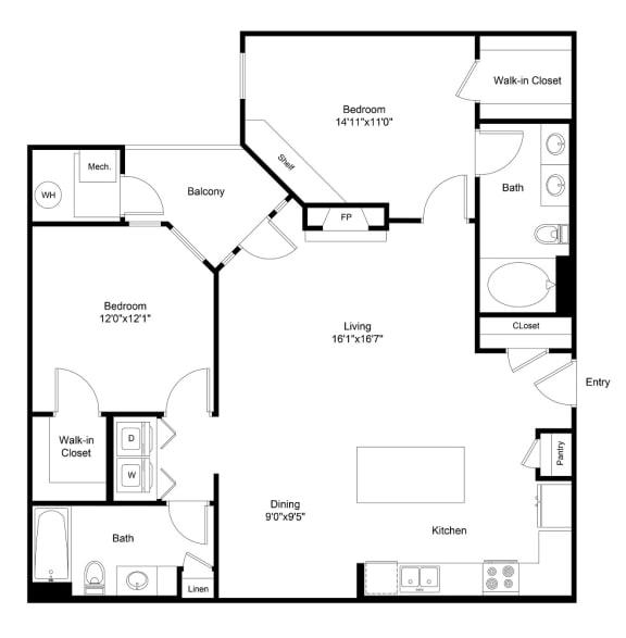 Floor Plan  City Gate Champa floor plan