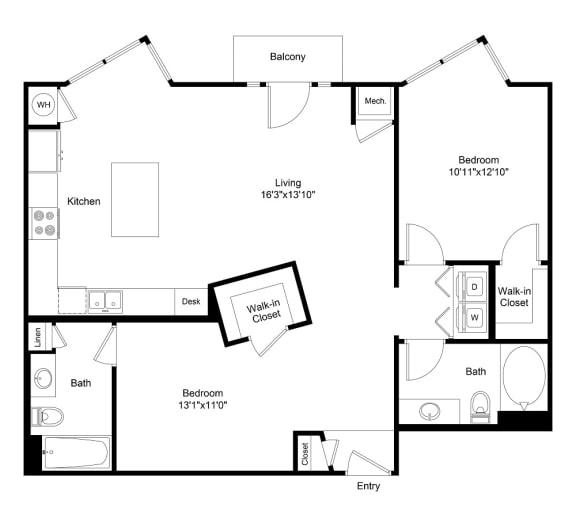Floor Plan  City Gate Downing floor plan