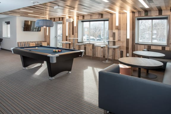 Billiards with seating
