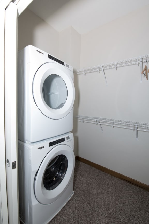 In-Unit Washers and Dryers at Birdtown Flats, Robbinsdale, MN, 55422