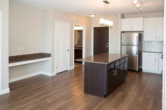 Home interior Indigo floorplan at Martin Blu cheap apartments in Eden Prairie MN