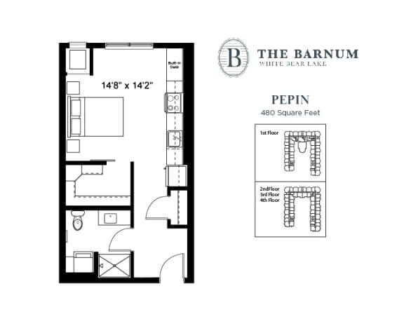 Floor Plan  Pepin