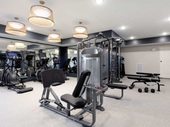 High Endurance Fitness Center at The Barnum, Minnesota